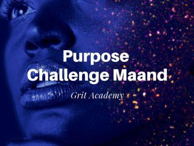 Purpose Challenge Maand