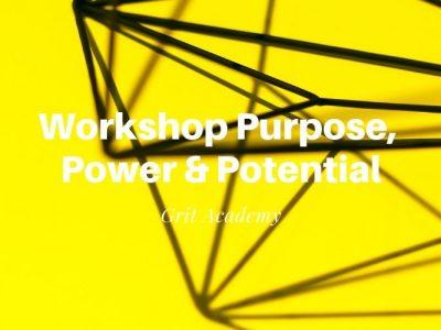 Workshop Purpose, Power & Potential